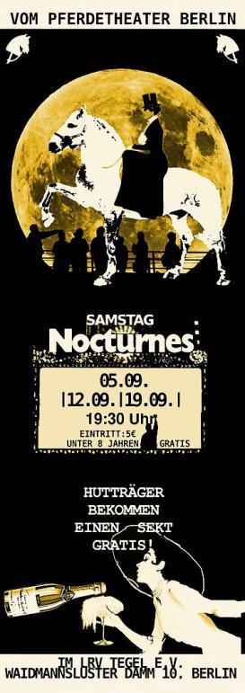 Nocturne, Pferdetheater, Leon Vermeulen
